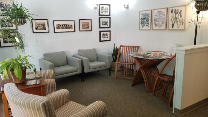 The San Luis Obispo dentist office of Dr. Deborah McNeil-Amorteguy, DDS.